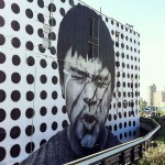 JR New Mural In New York City