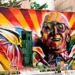 Eduardo Kobra New Mural In Sao Paulo, Brasil