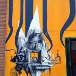 Kraser Tres New Mural In Milano, Italy