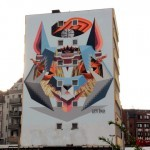 Low Bros New Mural For CityLeaks '13 In Cologne, Germany