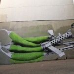 """Ludo """"Green Hot Chili Peppers"""" New Mural In Paris, France"""