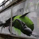 "Ludo ""Beestie"" New Mural In Paris, France"