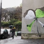 "Ludo ""Friday The 13th"" New Street Piece In Paris, France"