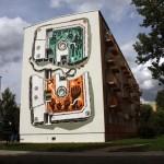 M-City New Mural In Jarocin, Poland