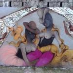 Miss Van x CiroSchu New Mural In Sao Paulo, Brazil