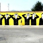 MP5 New Mural In Terracina, Italy