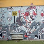 Mr Thoms New Mural In Turin, Italy