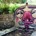 Mr Thoms New Piece In Fonte Nuova, Italy