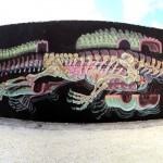 "Nychos ""Dissection Of An Alligator"" New Street Piece – Wynwood, Miami"