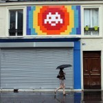 """""""PA_1174"""", a giant invasion by Invader in Paris, France"""