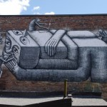 Phlegm New Mural In Montreal, Canada (Part II)