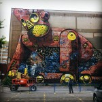 Pixel Pancho New Mural In Montreal, Canada