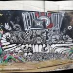 Profeta x Ninguem x Enivo x Milo Tchais New Mural In São Paulo, Brazil