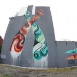 Reka New Mural In Montreal, Canada