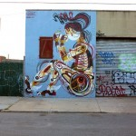 REKA New Mural In New York City, USA
