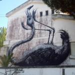 ROA New Mural In Lagos, Portugal (Part II)