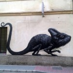 ROA New Mural In Malaga, Spain (Part II)