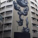 ROA New Mural In Malaga, Spain