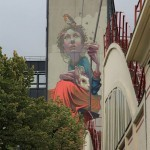 "Sainer ""High Hopes"" New Mural In Paris, France"