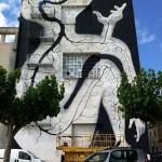"""Sam3 """"River"""" New Mural In Amposta, Spain"""