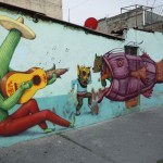 Saner x Sego x AEC Interesni Kazki New Mural In Mexico City