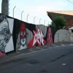 Seacreative x Kraser x Vine x James Kalinda x Nemo x Kraser x Centina New Mural In Varese, Italy