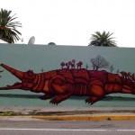 Sego Y Obval New Mural In Oaxaca, Mexico