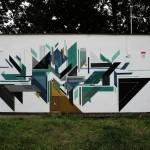 Seikon New Mural In Gdansk, Poland