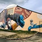 Seth New Mural In Fleury Les Aubrais, France