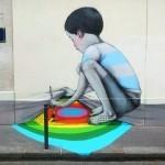 Seth New Mural In Paris, France