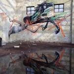 Seth x Shida x Twoone New Mural In Melbourne, Australia
