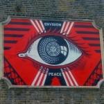 Shepard Fairey New Mural In London