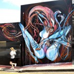 Shida New Mural In Brisbane, Australia