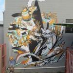 Shida x Knarf New Mural In Miami, Australia