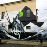 Shida x TWOONE New Mural In Melbourne, Australia