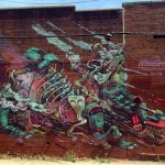 Nychos x Smithe New Mural In New York City, USA