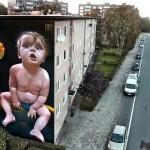 Telmo Miel New Mural For Day One Festival – Antwerp, Belgium