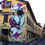 ZED1 New Mural In Carugate, Italy