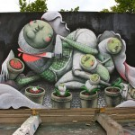 ZED1 New Mural In Copenhagen, Denmark