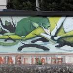 ZED1 New Mural In San Felice A Pelago, Italy