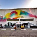 "Ruben Sanchez & Txemy collaborate on ""Astral Travel"", a new piece in Al Quoz, Dubai"