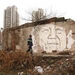 Vhils New Murals In Shanghai, China (Part II)