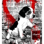 """Mr Brainwash """"I Woof You"""" New Print Available Today"""