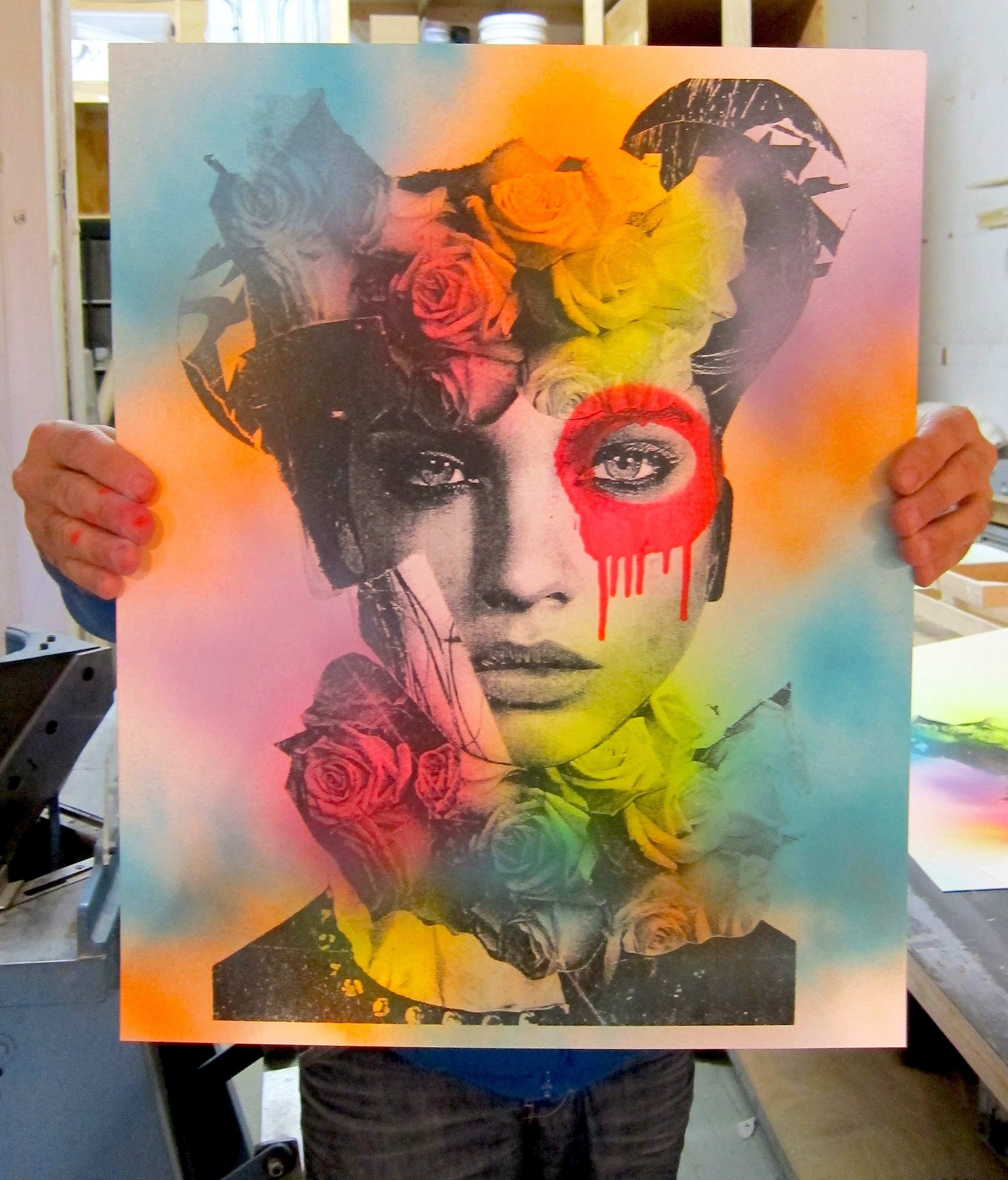 DAIN Holding Cluster Wall Print