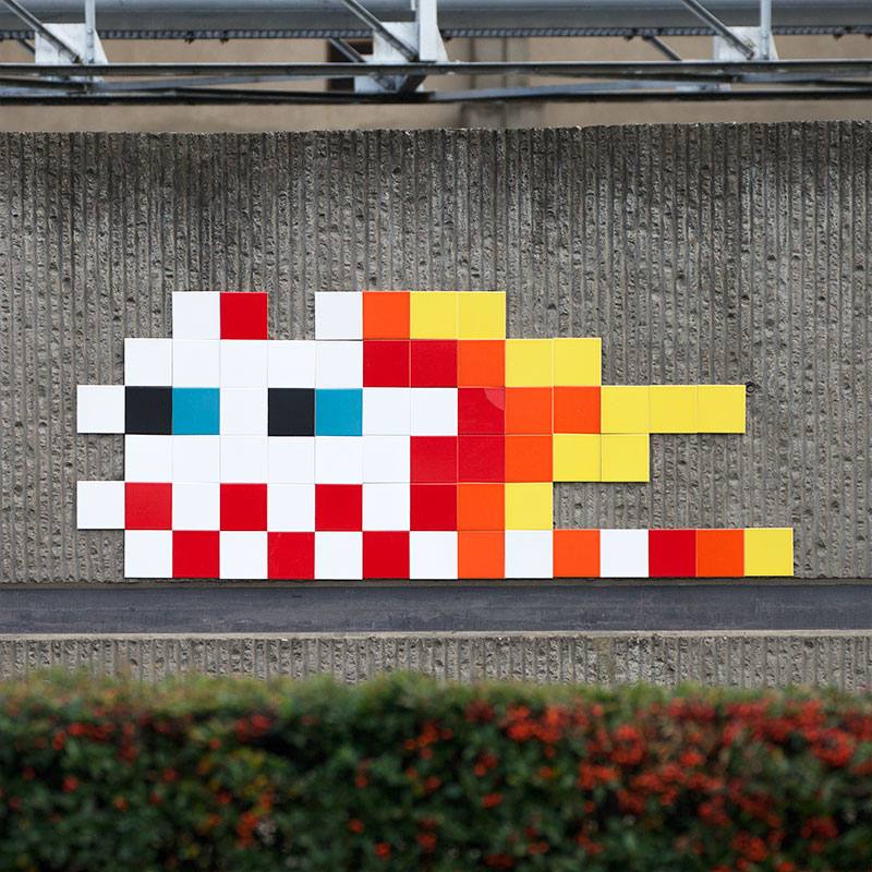 Invader in Clermont-Ferrand, France