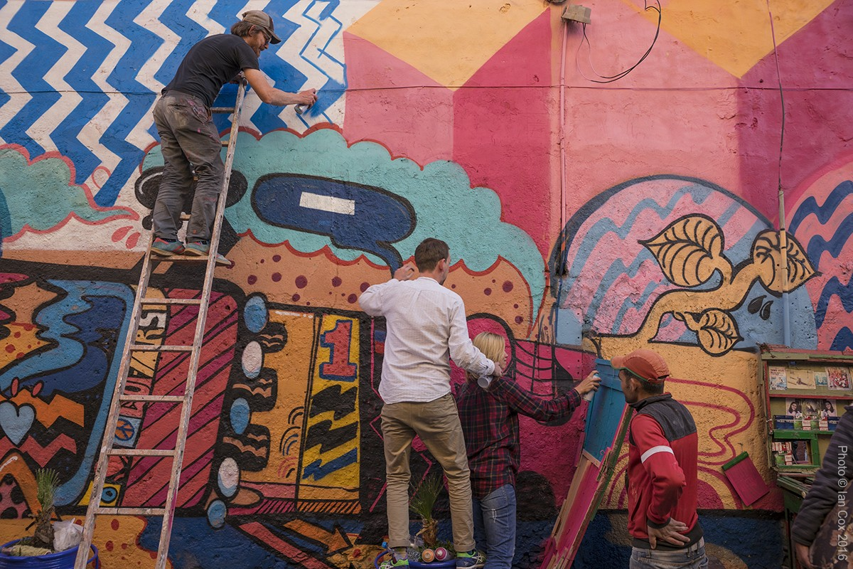 58. Sickboys and Dotmasters working together MB6 Street Art photo ©_Ian_Cox_2016