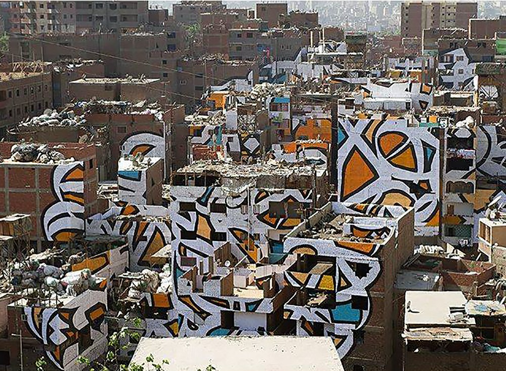 Perception By El Seed In Cairo Egypt Streetartnews