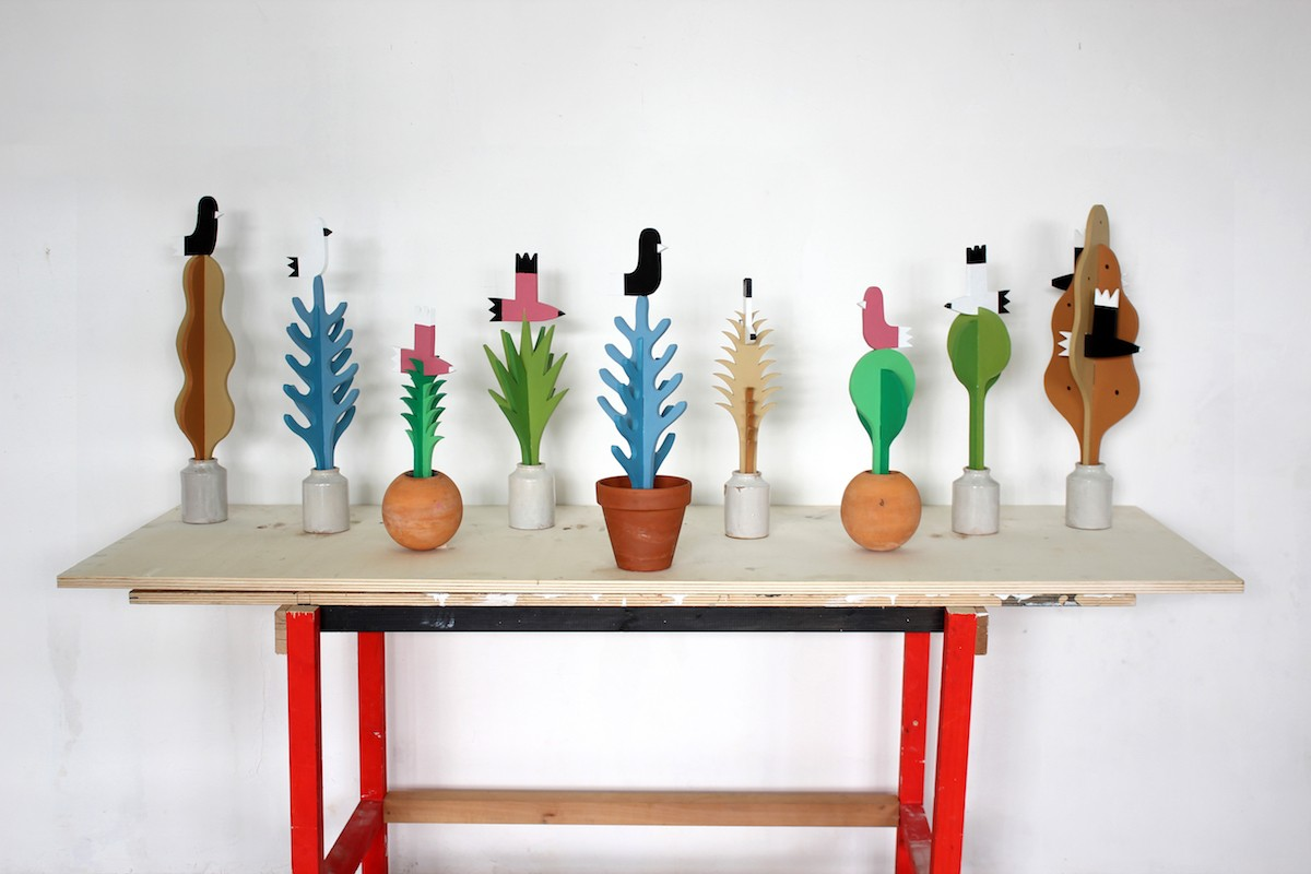 wooden Plants