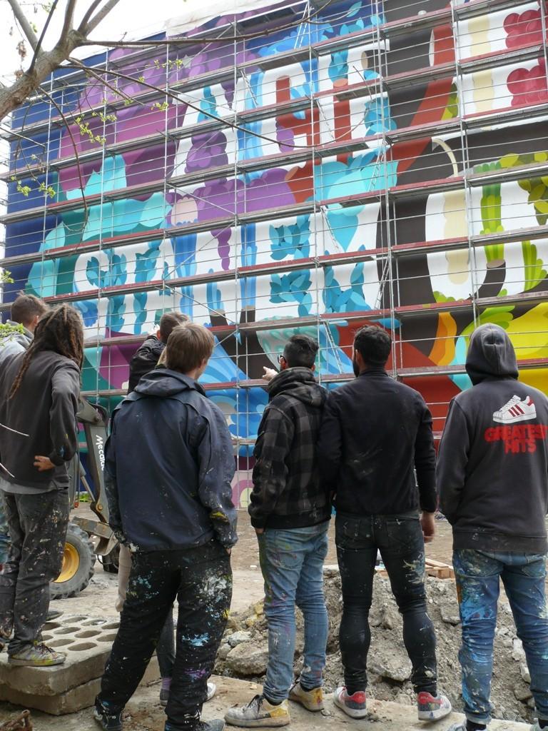 BOA MISTURA Zycie jest stanem umysàuLodz Murals 2016 mak 8