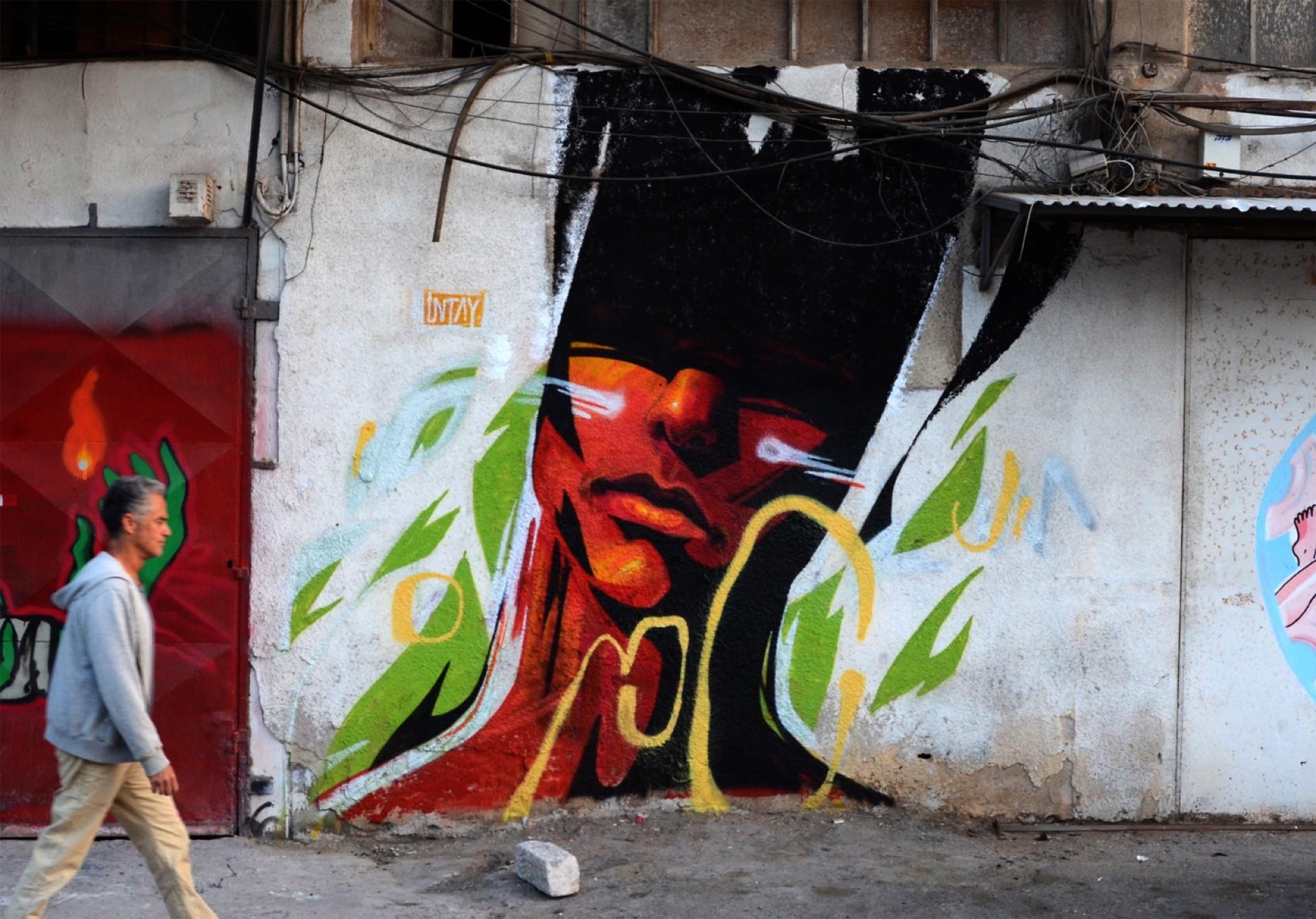 UNTAY mural tel aviv 01
